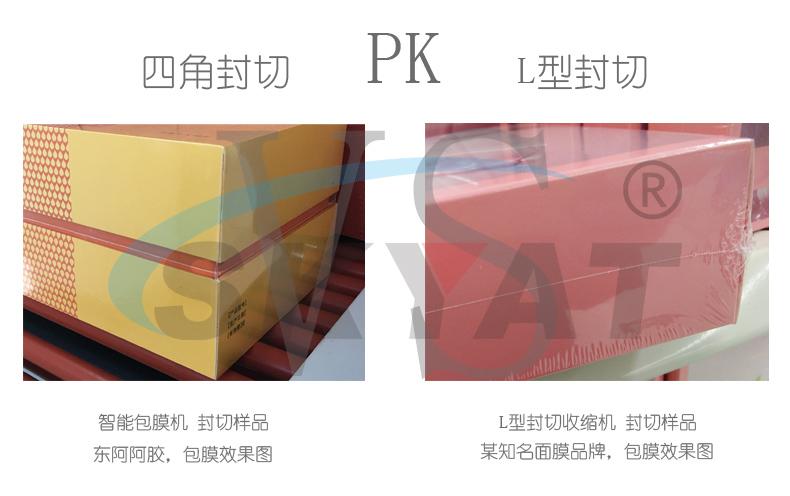 四角封切包膜机PKL型封切收缩包装